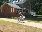 Weeee now have bikes at the Farmhouse!