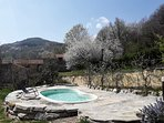 Bed and Breakfast naturAS - La Casetta nel Bosco. La piscina