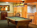 Enjoy a game of pool after a fun day at Copper!