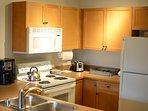 Coffee maker, crock pot, toaster, blender, dishes, glass ware, utensils, pots & pans included!