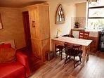Downstairs kitchen/sitting room