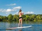 Local paddleboarding