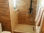 ensuite  walk in shower