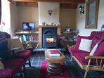 Sittingroom in cottage