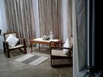 17/42: The Sitting Area in The Moray Suite. The room further provides tea, coffee service & a closet