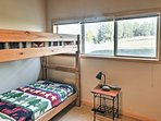The kids will love this bunk room!