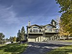 The townhouse is surrounded by views of Mission Mountain Range & Flathead Lake.