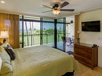 Country Club Villas #208 - Master Bedroom with Lanai