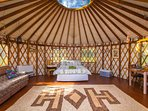 Romantic Yurt - fully equipped for a comfortable stay
