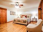 Bedroom 4  - King Bed, lower terrace level