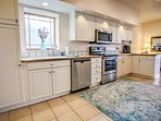 Open kitchen with ample space
