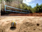 Your own volleyball court