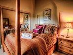 Main level queen bedroom