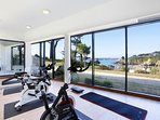 Keep up your fitness routine at the fully-equipped fitness centre on-site.
