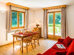 Welcome to our lovely 1 Bedroom Apartment in Samoens!