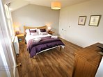 King Size Bedroom Number 2 with Full Ensuite Bathroom