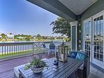 Waterside fun awaits mere steps from your back door!