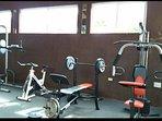 Gym inside the apt. complex