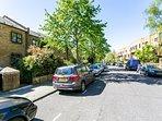 Lovely tree-lined street