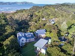 Secluded bush setting with stunning sea views