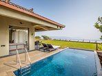 Private Pool | Massive Lawn | Stunning Views | Fully loaded Super Luxurious Bungalow Villa |