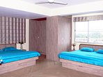 2 King Size Beds with Mattress, Dressing & Work Table, Wardrobes, Chairs, Centre & Side Tables