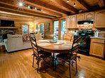 Waterfall Cabin fully equipped Kitchen