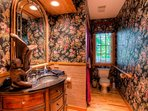 Elegantly appointed bathroom