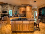 Upscale kitchen construction
