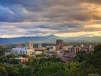 Asheville - 20 minute drive