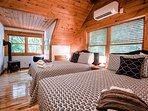 Bedroom 3 - 2 x Queen beds, upper level