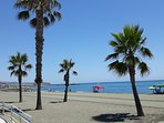 Playa Caleta.    Beach at Caleta