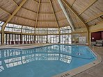 Indoor pool located in the clubhouse.pool hours and availability vary with season changes
