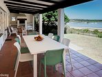 Birdsong Verandah with stunning view