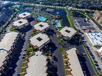 2 pools, lake, tennis courts, clubhouse