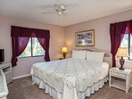 Soothing master bedroom with king size bed - sweet dreams