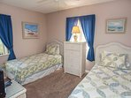 2nd bedroom with plenty of space for guests or kids