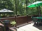 Lake Wallenpaupack is just a short walk away from this cozy house!