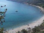 Porto Ercole spiaggia 25 km