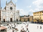 Wonderful view on Santa Croce