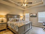 Retreat to the master bedroom for nights of peaceful sleep!