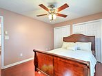 Four bedrooms and the living room sleep up to 10 guests.