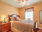 Each bedroom can sleep up to 2 on a queen bed.
