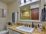 Routines are a breeze with 2 full bathrooms.