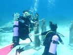Scuba diving in Green Bay Protaras