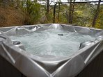 Your own private hot tub!