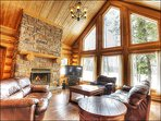 Exclusive Gated 4 Season Resort Community | Luxurious Log Home / 215748