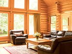 Exclusive Gated 4 Season Resort Community | Luxurious Log Home / 215747