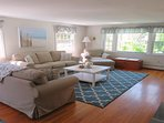 Lots of comfortable seating.  Offering WiFi and Central Air! - 14 Capri Lane Chatham Cape Cod New England Vacation...