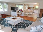 Spacious Living with flat screen TV - 14 Capri Lane Chatham Cape Cod New England Vacation Rentals